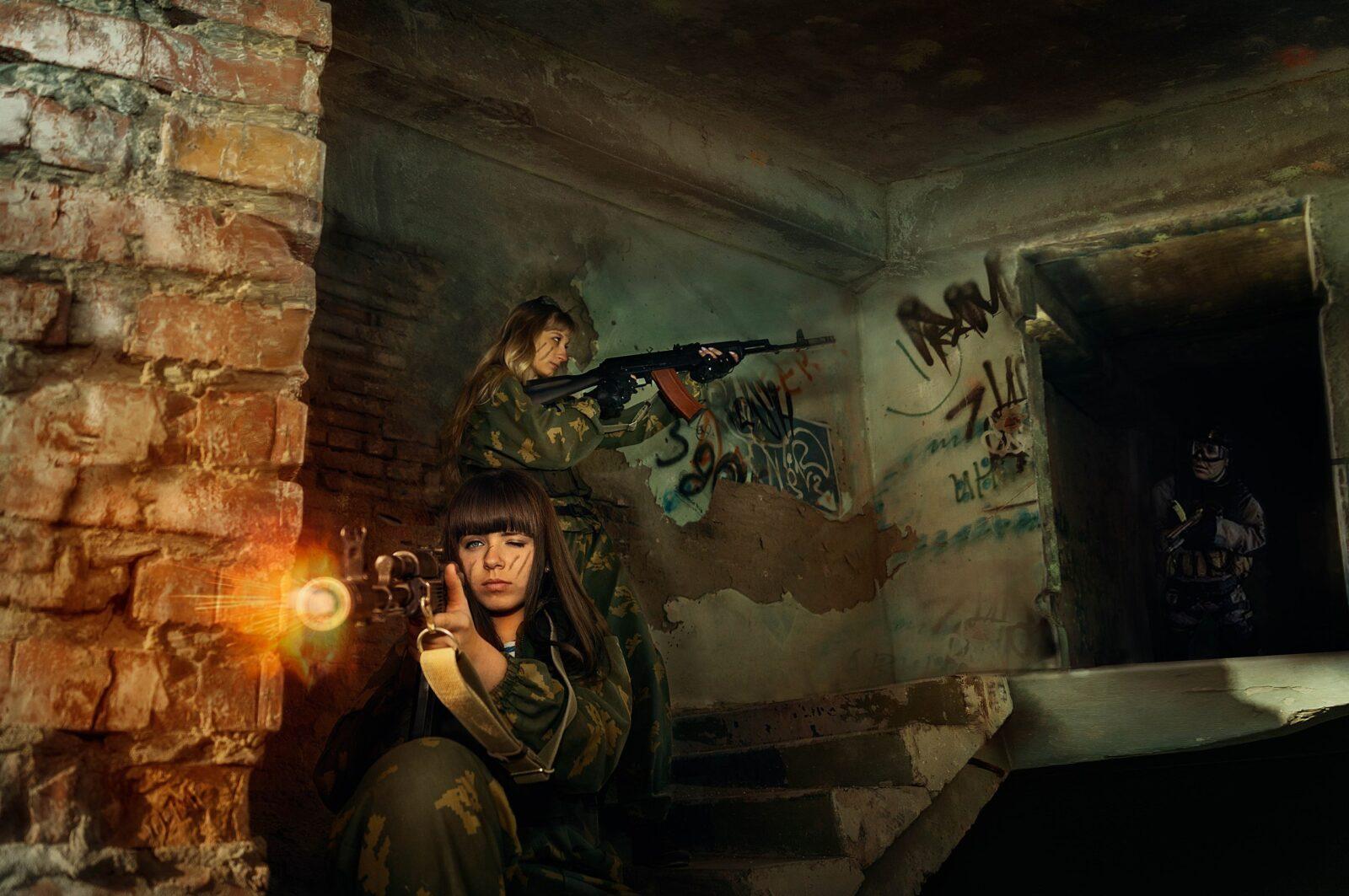 Фотосессия Military Style